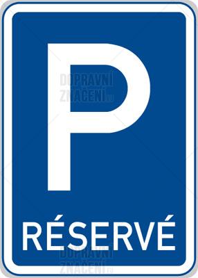 Žádost o vyhrazené parkovací stání
